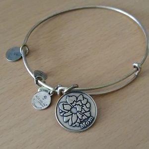 "Alex and Ani bangle. ""Mom"""